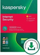 Kaspersky Internet Security 2021 • 1/ 3 / 5 / 10 Geräte 1 oder 2 Jahre per Email