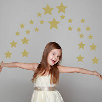 Set of 67 Star Wall Stickers Decal Childs Kids Nursery Vinyl Art Decor
