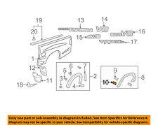 TOYOTA OEM Tundra Pick Up Box Bed-Wheel Fender Flare Molding Retainer 753920C070