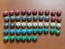 MTG Magic the gathering Mixed Lot Of 46 life die D20 Polyhedral Dice