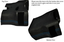 BLUE STITCH STEERING SHROUD LEATHER COVER FITS PORSCHE 986 BOXSTER&CARRERA 996