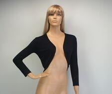 Womens Long Sleeve Bolero Cardigan Size 8 to 24
