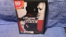 LAW ABIDING CITIZEN, DVD, USED, good movie, lots of action!!