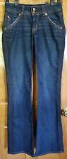 Women's Hudson Flap Pocket Boot Cut Jeans Sz 28 Stretch
