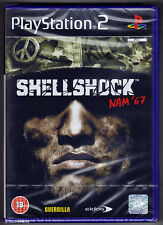 Shellshock Nam '67 Sony PlayStation 2 Ps2 18 Action Shooter Game