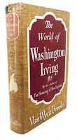 Van Wyck Brooks THE WORLD OF WASHINGTON IRVING  1st Edition 1st Printing
