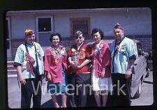 1963 Kodachrome Photo slide Lions Club Members  Portland Oregon Jar of Coins