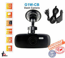 Black Box Full HD Car DVR Capacitor Dash Camera 4X Zoom 120 Degree G1W
