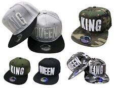 King & Queen Snapback lot bonnet CAPPY Trucker Casquette Etats-Unis sport