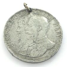 King George V 5th Fifth May 6 1935 Silver Jubilee Medal Pendant L276
