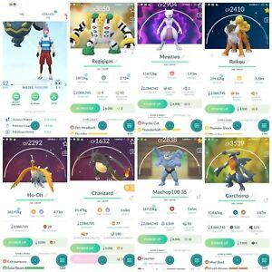 Pokémon Account Go level 42 | 323 Shiny | 174 Legendary(Rare)| 69,4*Pokemon