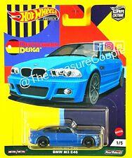 Hot Wheels - BMW M3 E46 Blue - Car Culture Deutschland Design GRJ72 2021