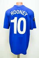 MANCHESTER UNITED 2008/2009 THIRD FOOTBALL SHIRT CHAMPIONS LEAGUE NIKE ROONEY