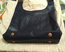 Orla Kiely leather crossbody bag