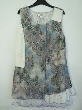 BN   Clarity Ladies Sleevless Lined Printed Tunic   Size XL