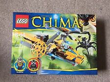 New Boxed LEGO Legends Of Chima LAVERTUS TWIN BLADE set 70129 With 2 Mini figure