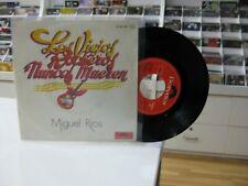 """MIGUEL RIOS 7"""" SPANISH LOS VIEJOS ROCKEROS NUNCA MUEREN / ROCKERO DE NOCHE 1979"""