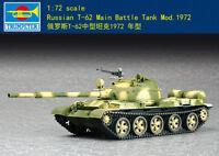 Trumpeter Russian T-62 Main Battle Tank Mod.1972 1/72 scale model kit new 07147