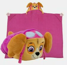 Comfy Critters Stuffed Animal Plush Blanket – PAW Patrol Skye – Kids
