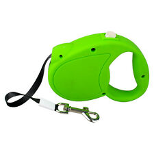 Nylon Retractable Dog Lead Extendable Pet Leash for Small Dogs Walking 3/5/7.5M