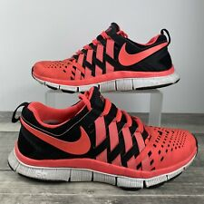 Nike Free Trainer 5.0 Black/Atomic Red Running Shoes 579809 006 Men's Size 9