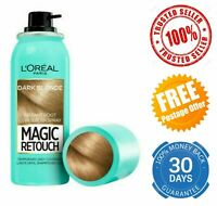 L'Oreal Magic Retouch Instant Root Concealer Grey Hair Coverage Dark Blonde