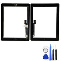 New SPEC Black Glass Touch Screen Digitizer Home Button Assembly For iPad 3 4