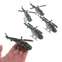 2X Sand Table Military Fighter Modello World War II War Helicopter Model Toy BHQ