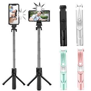 Telescopic Bluetooth Selfie Stick Tripod Monopod Phone Holder For iPhone Samsung