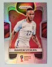 2018 Prizm World Cup Raheem Sterling SILVER PRIZM!