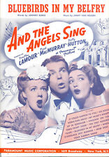 "AND THE ANGELS SING ""Bluebirds In My Belfry"" Dorothy Lamour Betty Hutton"