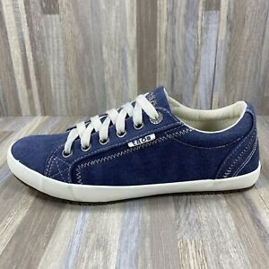 Taos Womens Comfort Sneakers Casual Blue Size 7