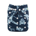 Alva One Size Cloth Diaper Reusable Pocket Diaper With 1Insert For Boys