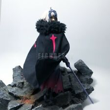 "BID 1/12 Black Wired Robe Cloak for 6"" Figure Figma Avenger alter FATE FGO Toy"