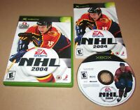 NHL 2004 for Microsoft Xbox Complete Fast Shipping