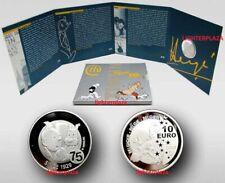België - Belgique - Belgium. 10 Euro zilver Proof - Kuifje Tintin 2004