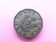 George VI Threepence 1949 (myrefn10062)