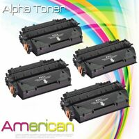 4Pk CF280X 80X Black Toner for HP LaserJet Pro 400 M401dn M401n M425dn Printer