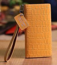 For iPhone 12 Pro Max /URBANWEST Crocodile Pattern Leather Craft Cell Phone Case