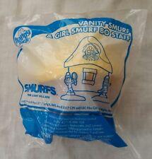 McDonalds Happy Meal Toy Smurfs the Lost Village Vanity Smurf & Girl Smurf BNIB