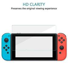 New Pack of 5 Genuine Clear Tempered Glass Screen Protector For Nintendo Switch