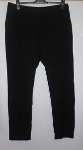 Uniqlo Black Smart Trousers Size XL