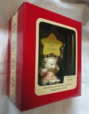 CARLTON HEIRLOOM ORNAMENT ~ GRANDDAUGHTERS FIRST CHRISTMAS ~ CUTIE ~ 1991 *NEW