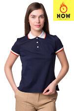 RRP €330 DSQUARED2 Polo Shirt Size S Split Hem Regular Collar Made in Italy