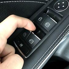 Chrome Door Lift Button Trim For Mercedes Benz A B CLA GLA Class W176 W246 C117