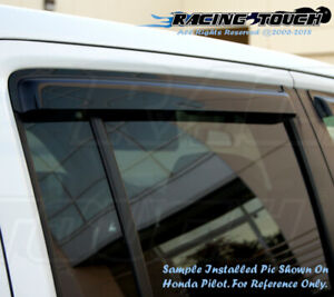Chevy Chevrolet Silverado 1999-2006 WT LT REG. Cab Window Visor (Front 2pc Only)