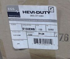 Hevi Duty Transformer E150ewb 150va Pri 120240 Sec 24vac 60 Day Warranty