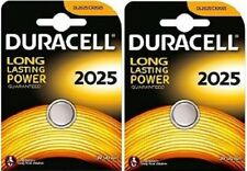 2 Batterie Pile DURACELL 2025 CR2025 KECR BR 280-205 L12 SB-T14 LF-1/2V 5003L