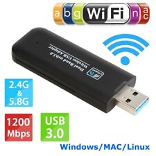USB 3.0 1200Mbps 5G/2.4G Dual Band HIGH SPEED Wi-Fi Adapter/Dongle for PC Laptop
