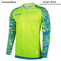 61ad02073 Kelme Goalkeeper Jersey Asian Size Men Football Long Sleeve Training Shirt